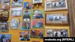 У Мсьціславе Аляксандар Лукашэнка быў, але на магніціках