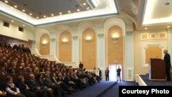 Foto nga arkivi( Ceremonia e gradimit të avokatëve të rinj në Prishtinë)