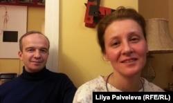 Николай Вершинин-Консовский и Анна Булгакова в Музее-квартире Всеволода Мейерхольда