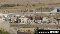 Строительство железнодорожной станции «Керчь-Южная», на которую будут прибывать поезда