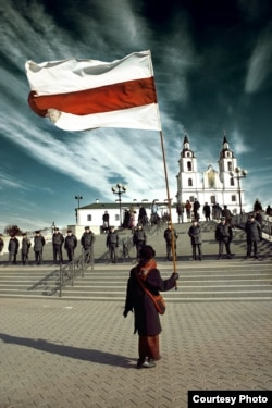 День волі у 2006 році. Ніна Богинська. Фото Євгена Ацецького