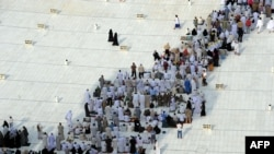 Мусульманские паломники совершают хадж