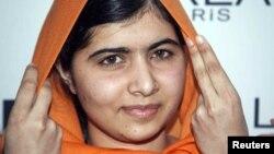 Лауреатка Нобелівської премії миру Малала Юсафзай
