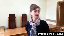 Ларыса Шчыракова ў судзе Гомельскага раёну