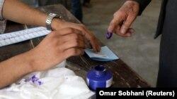 د افغانستان ولسمشریز انتخابات