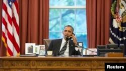 Барак Обама Хасан Роухани менен сүйлөшүүдө, 27-сентябрь, 2013-жыл