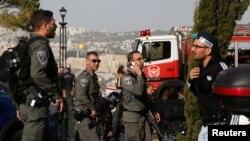 На місці трагедії, Єрусалим, 8 січня