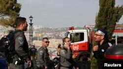 На месте теракта в Восточном Иерусалиме