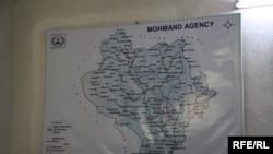 د مومند ایجنسۍ نقشه