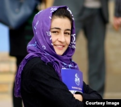 Mahnaz Mawzoon, 25, is a journalist in northern Afghanistan.