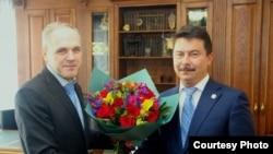 Артур Делян (слева) и Марат Садыков