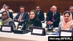 شماری از زنان افغان در مذاکرات صلح در قطر