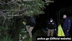 პოლიცია ინციდენტის ადგილას სოფელ ყიზილაჯლოში