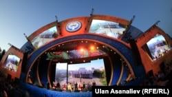 Бишкек. Эгемендик майрамынын урматына өткөн концерт. 31-август, 2015-жыл
