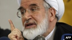 Iranian oppositionist Mehdi Karrubi (file photo)