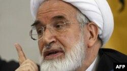 Mehdi Karrubi has been under house arrest since 2011.