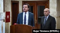 Ալբին Կուրտին և Իսա Մուստաֆան կոալիցիոն համաձայնագիր են կնքել, Պրիշտինա, 2 փետրվարի, 2020թ.