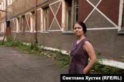 Марина Ласточкина, жительница дома, проданного РЖД вместе с жильцами