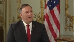 Pompeo Says U.S. Will Look At Stopping Oil Shipments To Belarus