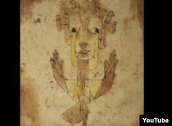 Angelus Novus a lui Paul Klee