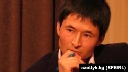 "Kyrgyzstan - Ulan Egizbaev, correspodent of Radio ""Azattyk."" Bishkek, August 9, 2013"