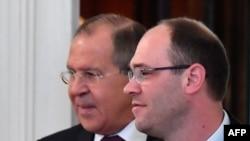 Prva posjeta hrvatskog šefa diplomatije Moskvi u 11 godina: Sergej Lavrov i Davor Ivo Stier