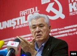 Лидер молдавских коммунистов Владимир Воронин