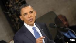 """Второ """"State of the Union"""" обраќање на Обама"""