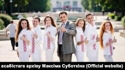 Максім Суботкін. Фота з асабістага архіву