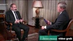 Премьер-министр Армении Никол Пашинян даёт интервью РБК, январь 2019 г.