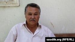 Узбекский диссидент Миртемир Мирабдуллаев.