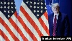 Presidenti i Shteteve të Bashkuara, Donald Trump.