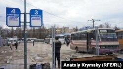 «Зона безопасности« на Центральном автовокзале Симферополя