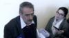 ՍԴ դատավոր Ֆելիքս Թոխյանը պատասխանում է լրագրողների հարցերին։