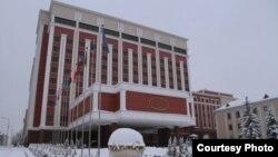 «Президент-готель» у Мінську, де відбуваються зустрічі Тристоронньої контактної групи