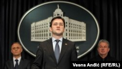 Ministar pravde Srbije Nikola Selaković