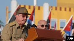 Кубинский лидер Рауль Кастро.