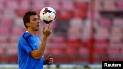 Beograd: Hrvatska nogometna reprezentacija na Marakani