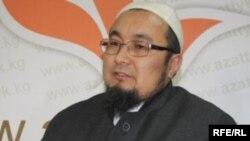 Қырғызстанның ресми мұсылмандар діни басқармасының басшысы Чубак қажы Жалилов.