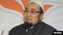 Қырғызстанның ресми мұсылмандар діни басқармасының бұрынғы басшысы Чубак қажы Жалилов.