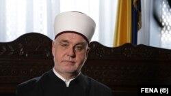 Delegacija Foruma htjela se sastati i sa reisu-l-ulemom Huseinom efendijom Kavazovićem (na fotografiji, juli 2020.), ali do posjete nije došlo