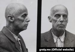 Василь Вишиваний (Вільгельм фон Габсбург). Фотографії зроблені в Лук'янівській в'язниці 1947-го або 1948 року, незадовго до смерті