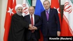 Ռուսաստանի, Իրանի և Թուրքիայի նախագահները հստակեցրել են Սիրիայի հարցում համագործակցության առաջնայնությունները