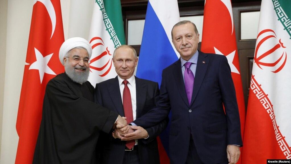 روسیه، ایران و ترکیه خواستار تشکیل «کنگره گفتوگوی ملی» سوریه شدند