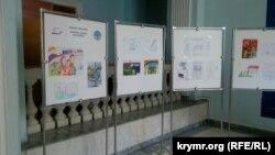 Детские рисунки на тему «Выборы-2018». Севастополь, 28 декабря 2017 года
