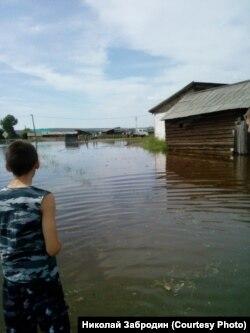Село Гадалей в Тулунском районе Приангарья