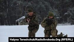 Резервісти освоюють спеціальність артилериситів, Львів, 13 грудня 2018 р.