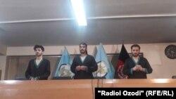 سه تن از خطرناکترین تروریست ها که مربوط به گروه داعش بودند و در بخشی از رویدادهای تروریستی سه سال گذشته در کابل دست داشته اند.