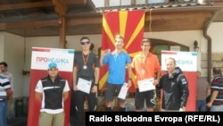 Лука Гаревски државен првак во триатлон и дуатлон.