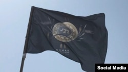 Флаг батальона имени Номана Челебиджихана